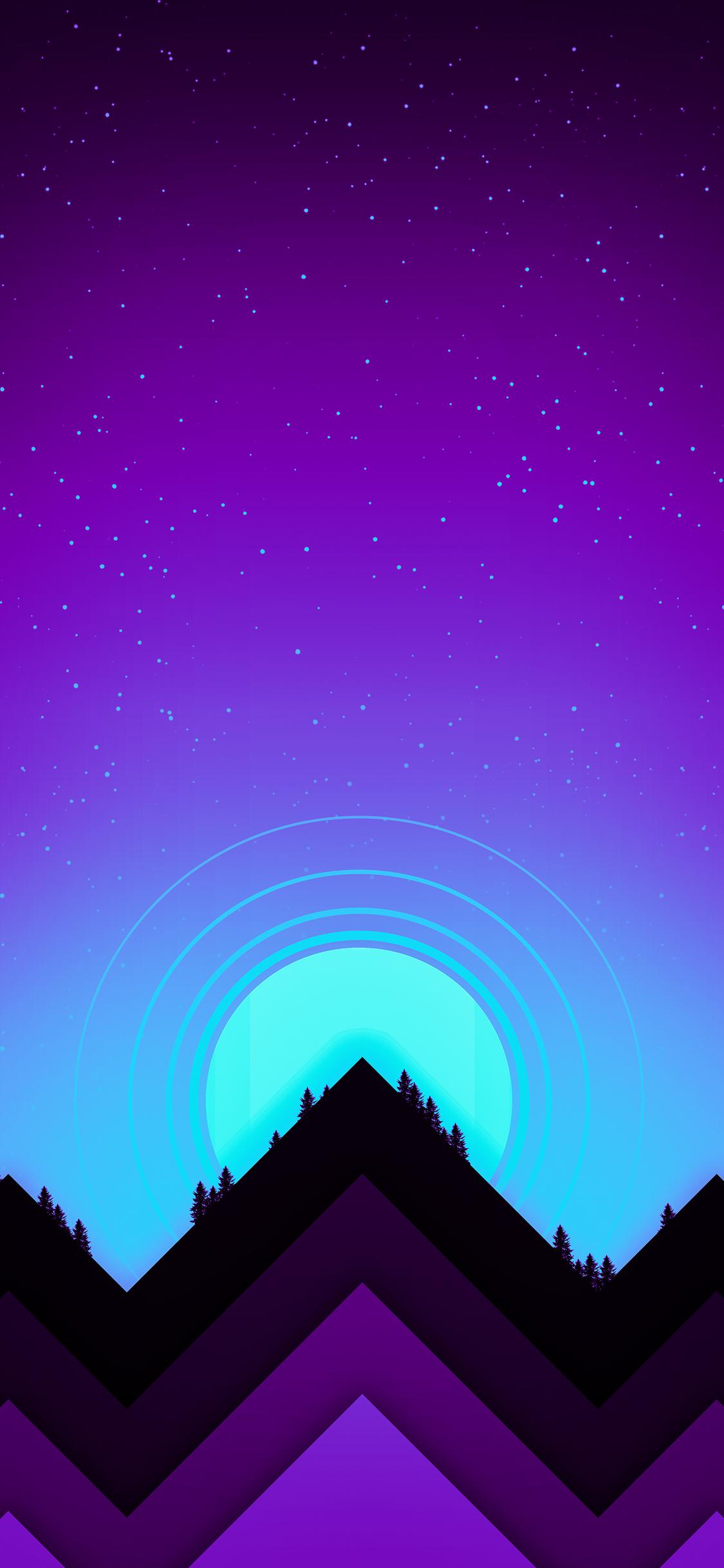 1125x2436 Mountains Minimal 4k Iphone ...