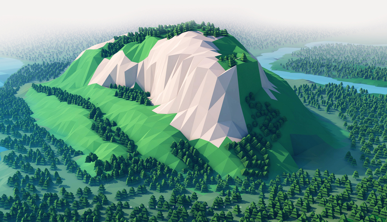 mountains-trees-forest-3d-minimalism-ku.jpg