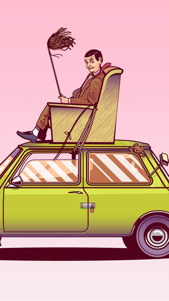 mr-bean-sitting-on-top-of-his-car-vector-art-1k.jpg