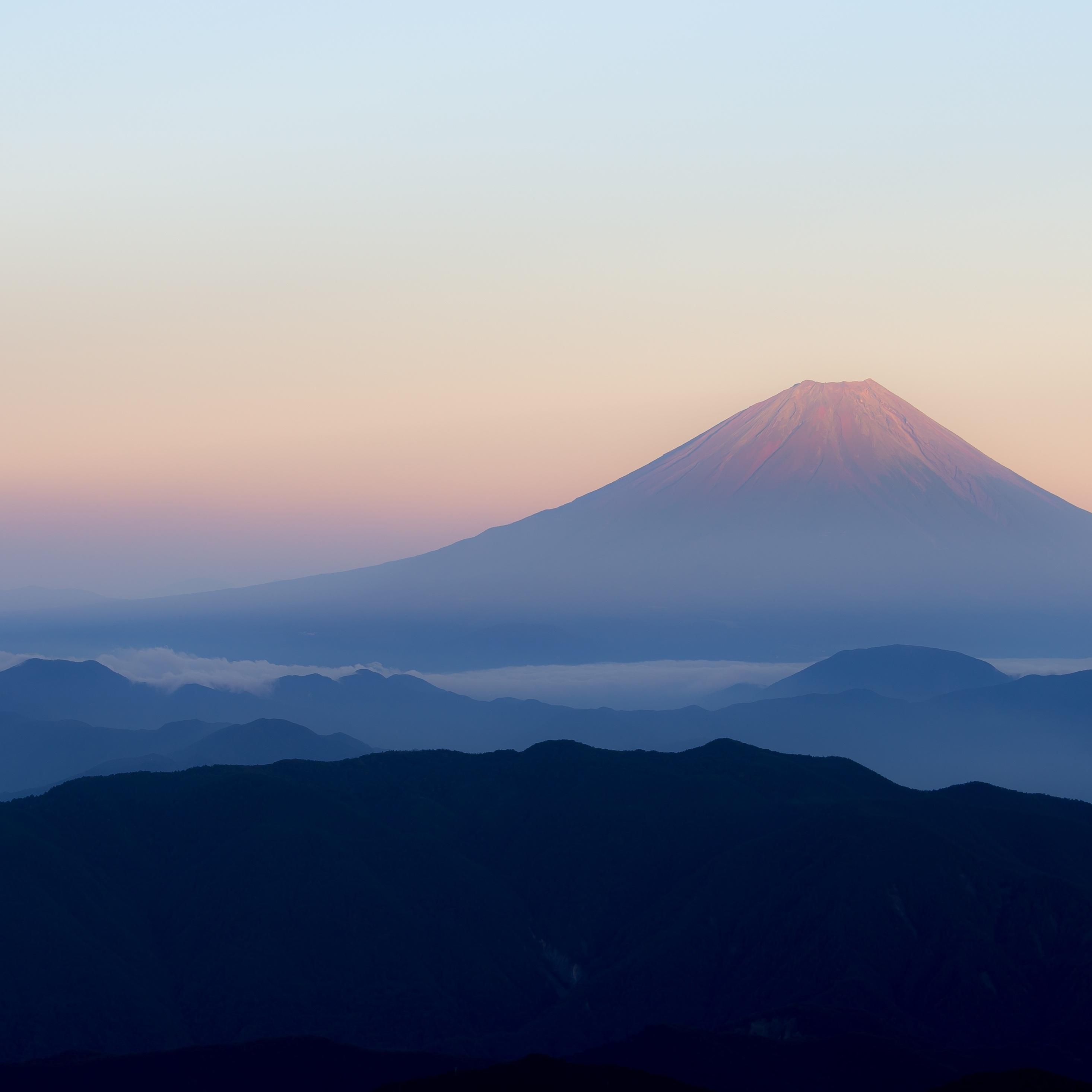 2932x2932 Mt Fuji 4k Ipad Pro Retina Display Hd 4k