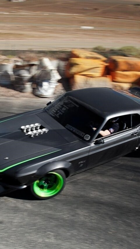Download Muscle Car Drifting Hd Wallpapers In Screen