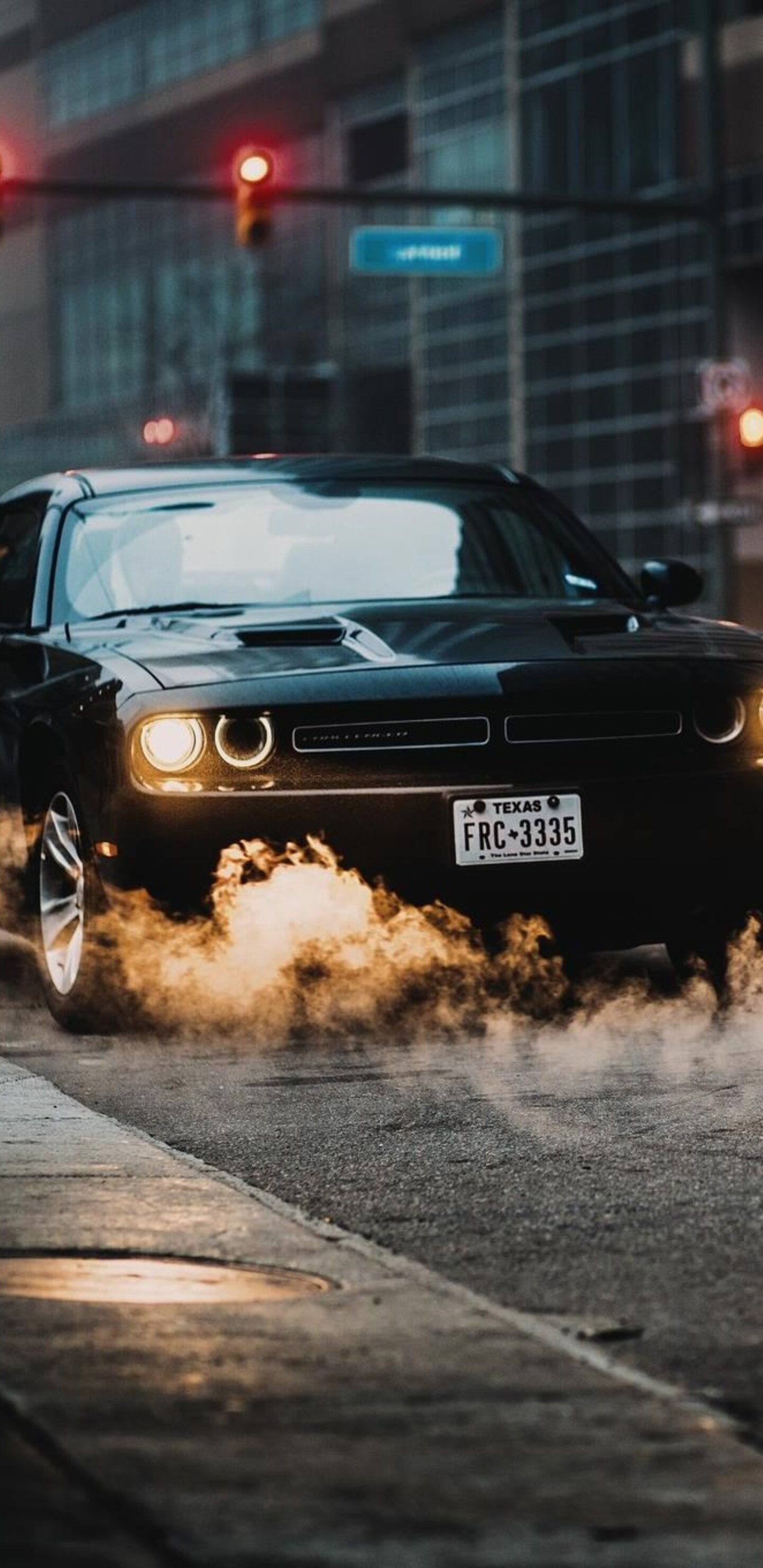 1440x2960 muscle car in city samsung galaxy note 9 8 s9 - Muscle cars wallpaper hd pack ...