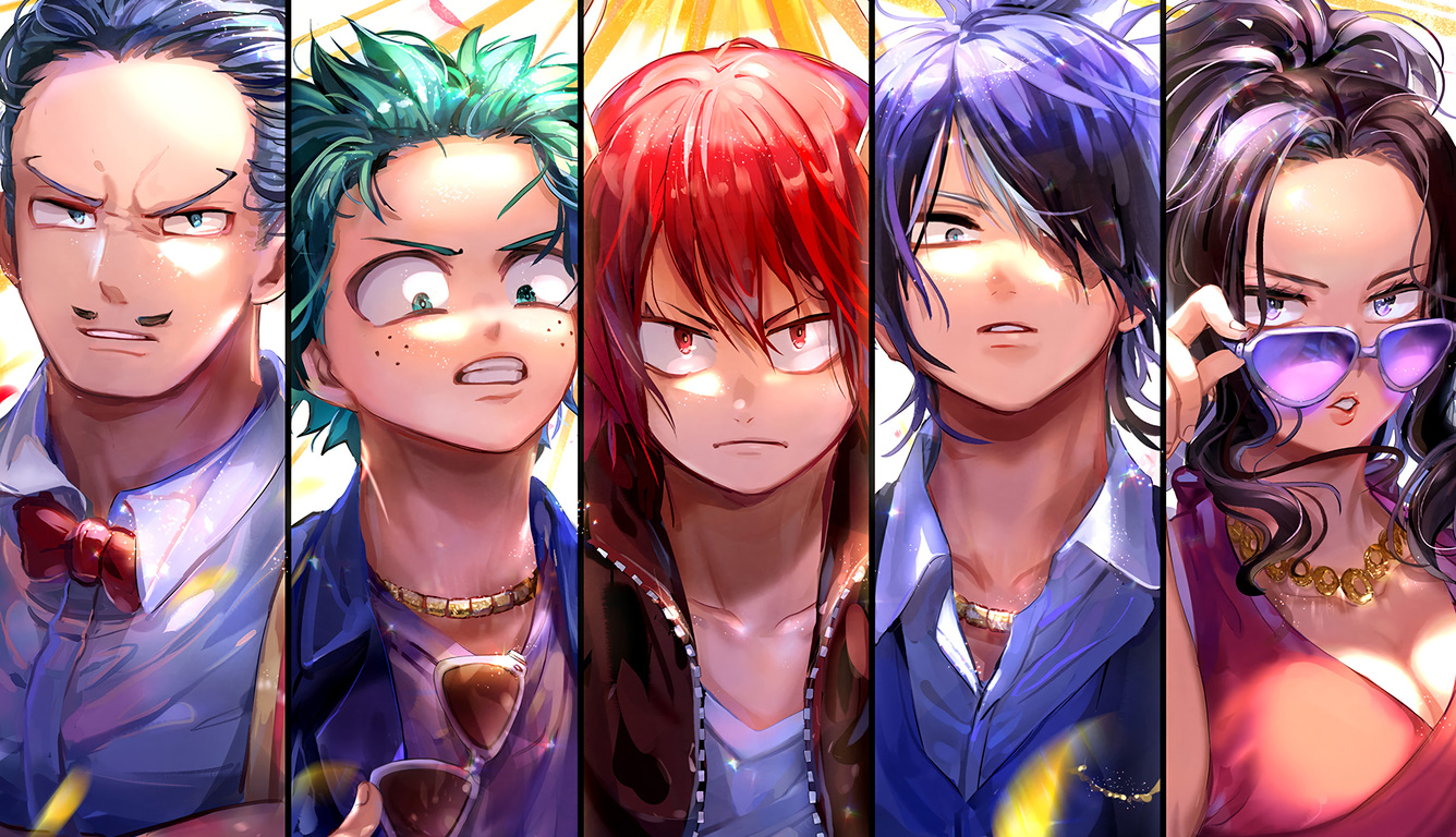 1336x768 My Hero Academia Laptop Hd Hd 4k Wallpapers Images Backgrounds Photos And Pictures