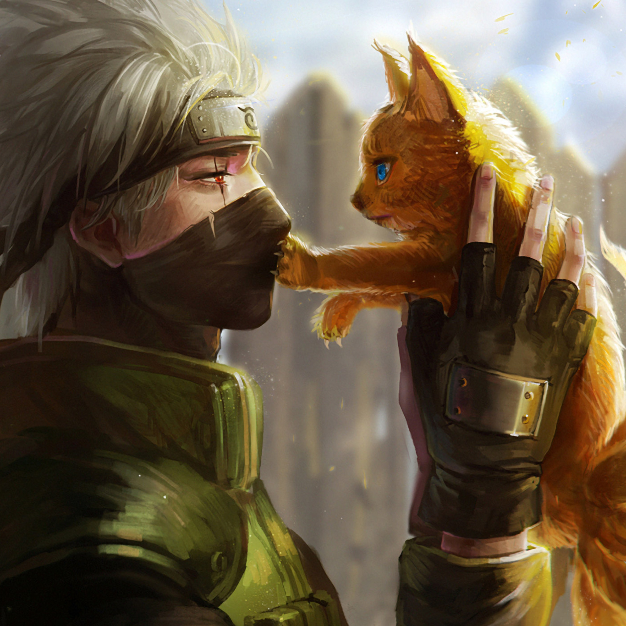 Popular Wallpaper Naruto Ipad - naruto-anime-on-2048x2048  Perfect Image Reference_32072.jpg