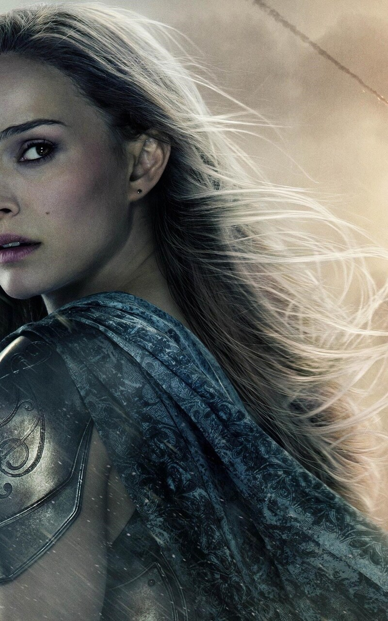 800x1280 Natalie Portman In Thor Movie Nexus 7,Samsung
