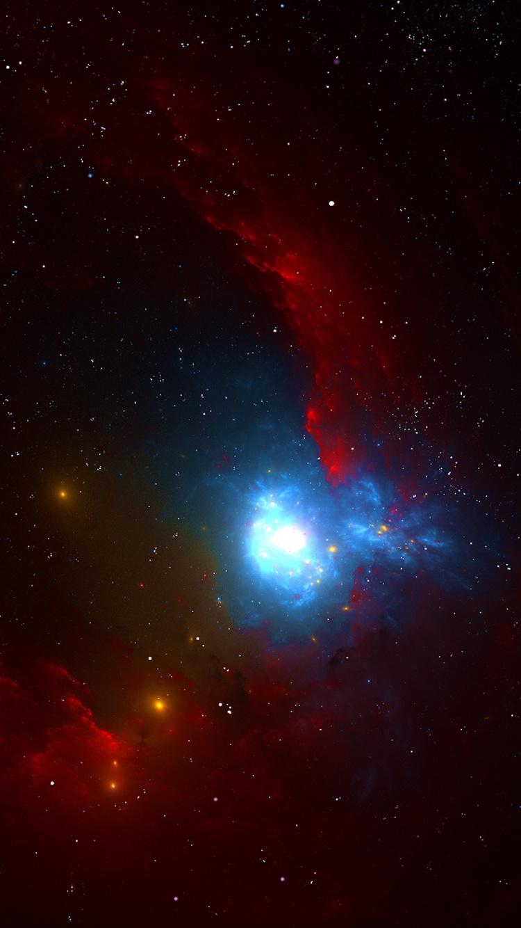 nebula red space 4k od