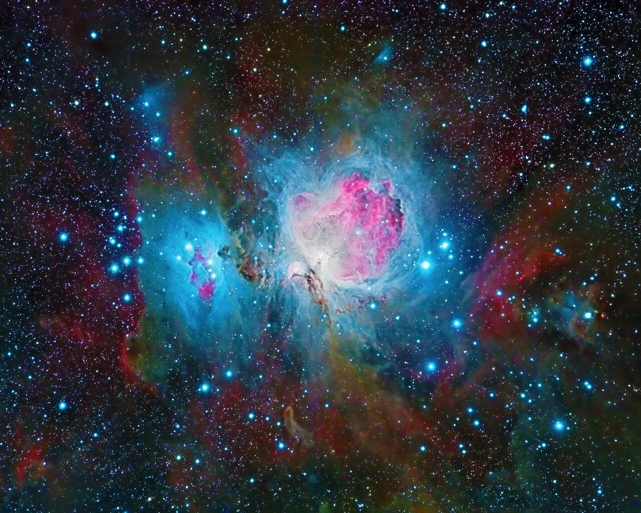 1280x1024 Nebula Space Galaxy Colorful 4k 1280x1024