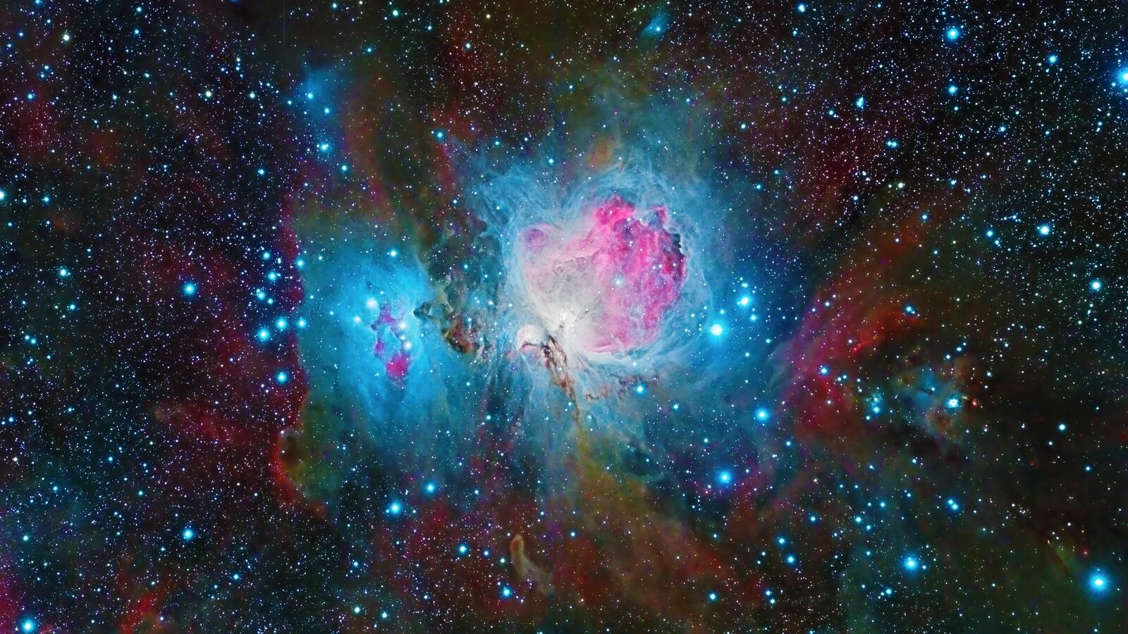 1600x900 nebula space galaxy colorful 4k 1600x900 - 4k resolution space wallpaper ...