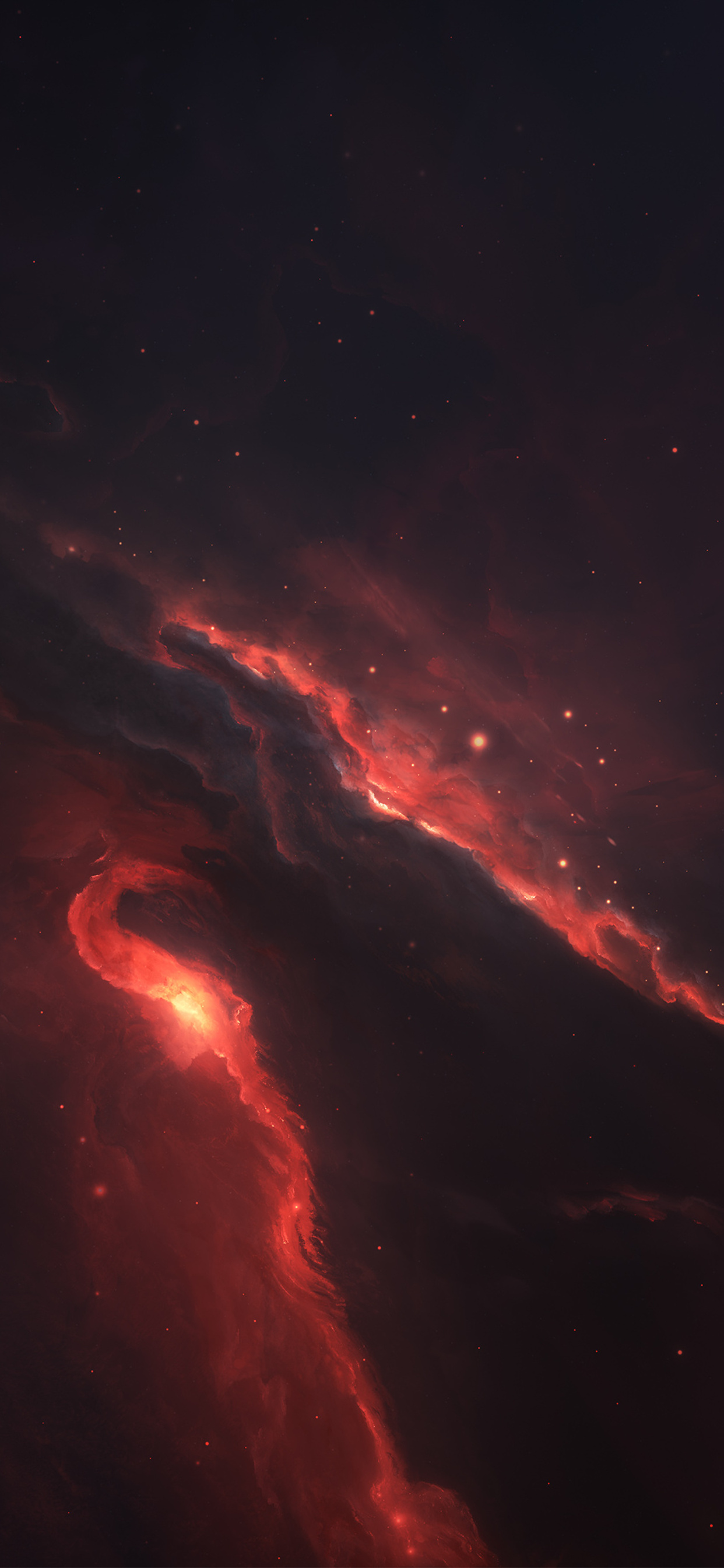1242x2688 Nebula Space Scenery 4k Iphone Xs Max Hd 4k Wallpapers