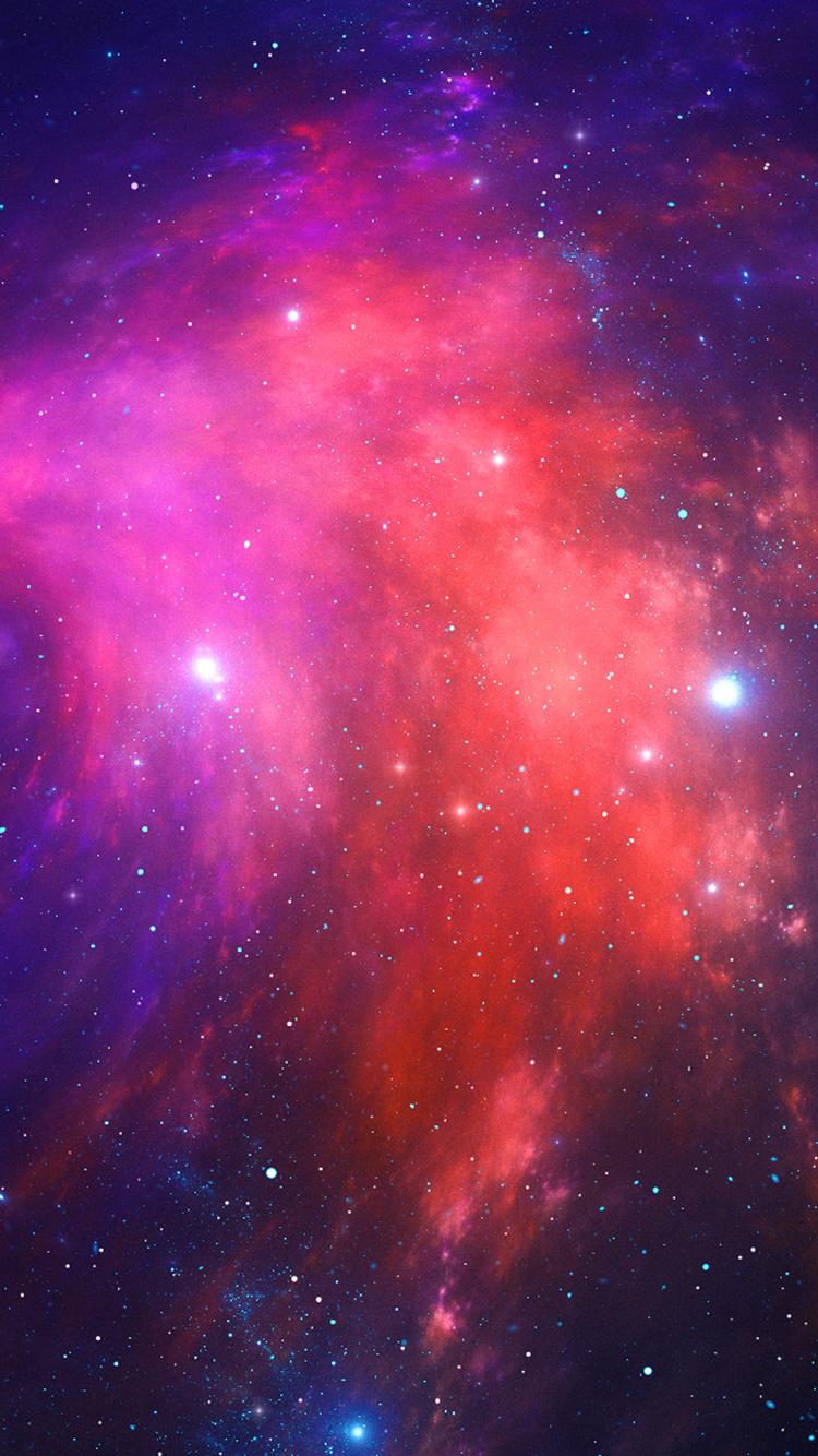nebula stars space galaxy 4k it