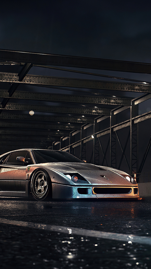 640x1136 Need For Speed Ferrari F40 4k Iphone 5 5c 5s Se Ipod Touch Hd 4k Wallpapers Images Backgrounds Photos And Pictures