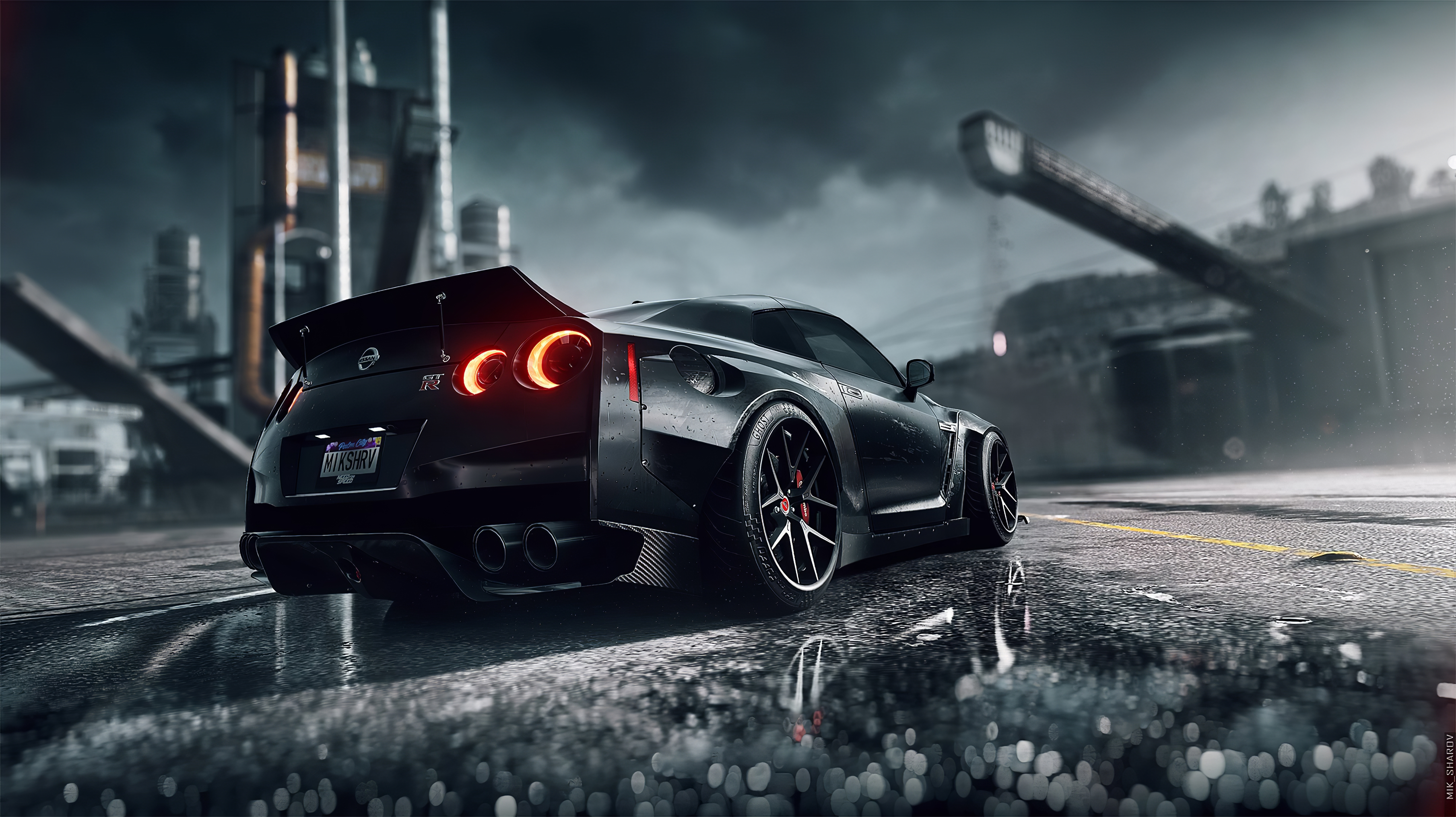 4000x3000 Need For Speed Heat Nissan Gtr 4k 4000x3000 Resolution