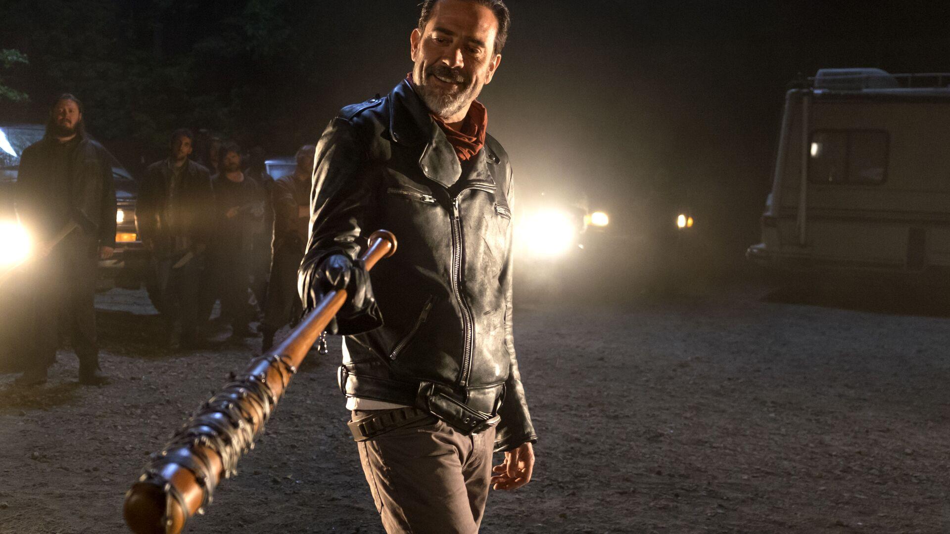 1920x1080 Negan The Walking Dead Season 7 Laptop Full Hd 1080p Hd