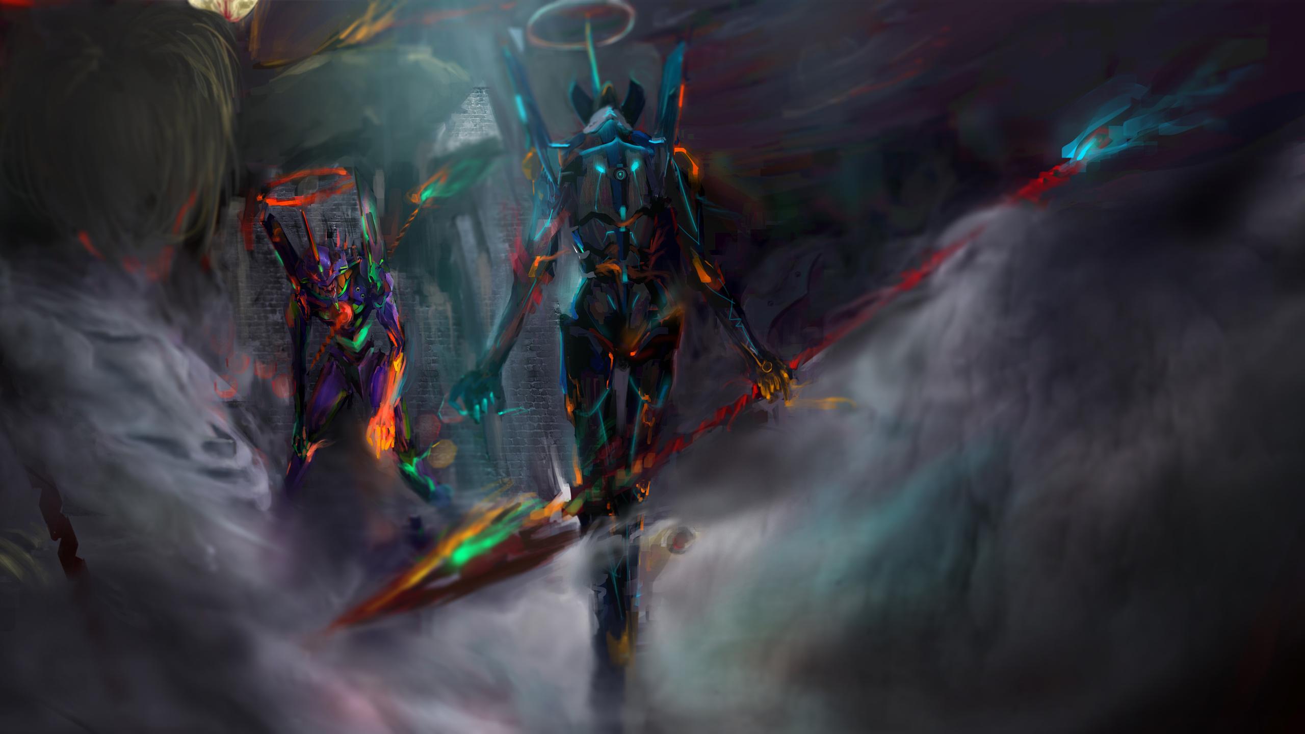2560x1440 Neon Genesis Evangelion 12k 1440p Resolution Hd 4k