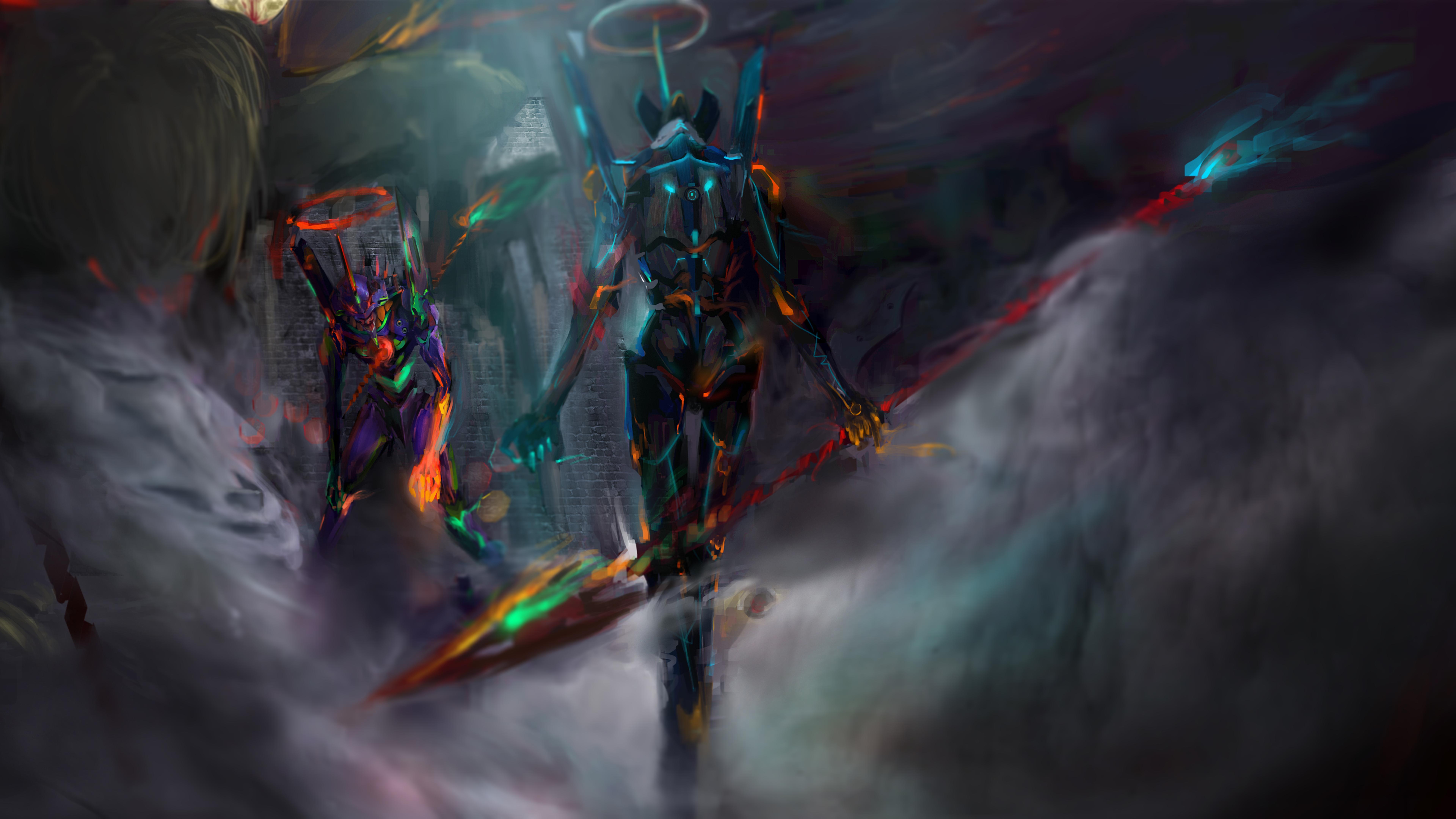 7680x4320 Neon Genesis Evangelion 12k 8k HD 4k Wallpapers