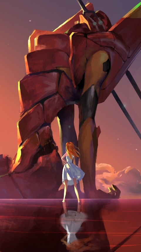 480x854 Neon Genesis Evangelion Android One HD 4k Wallpapers