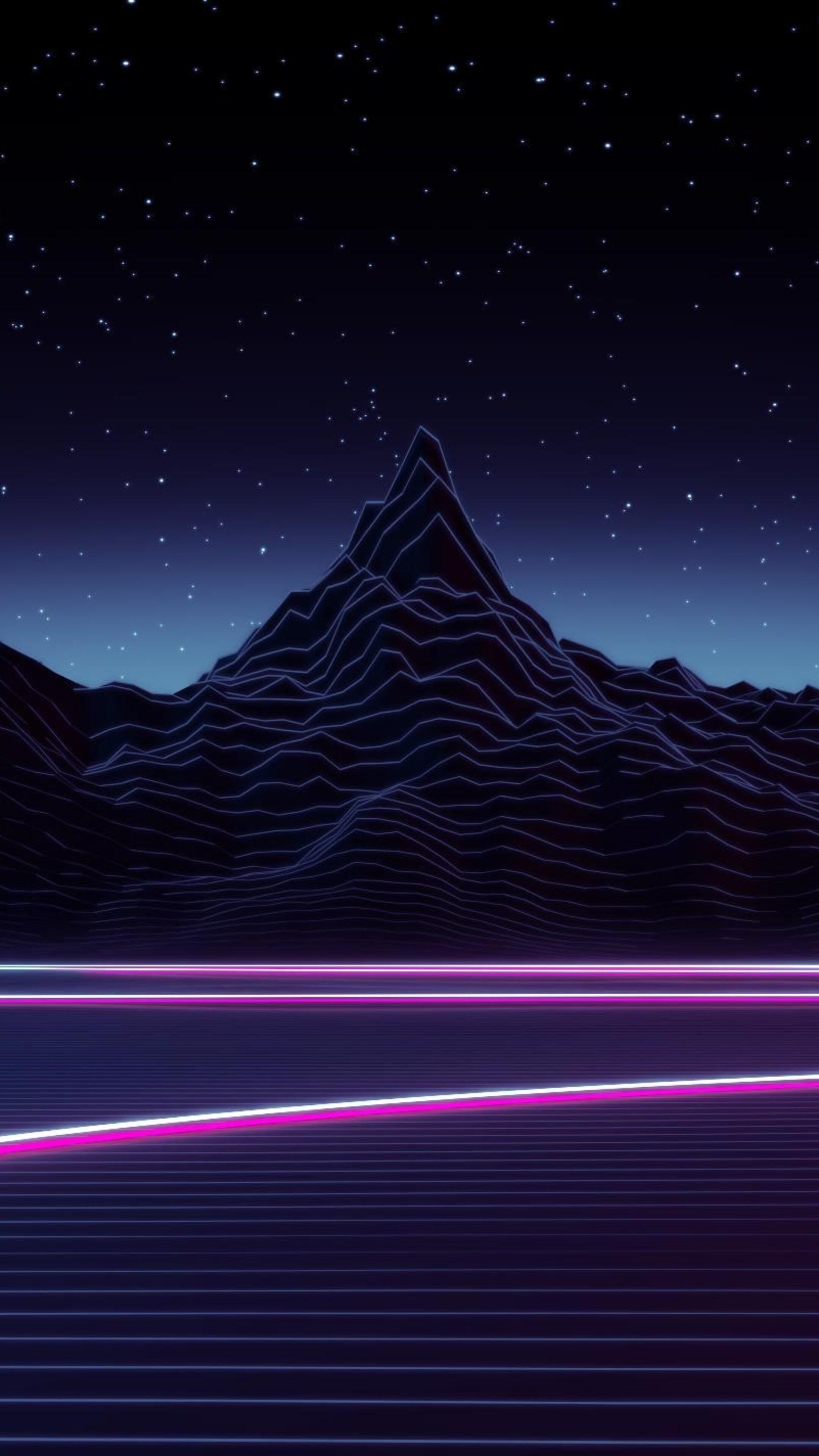 2160x3840 neon highway digital art sony xperia x xz z5 - Art wallpaper 2160x3840 ...