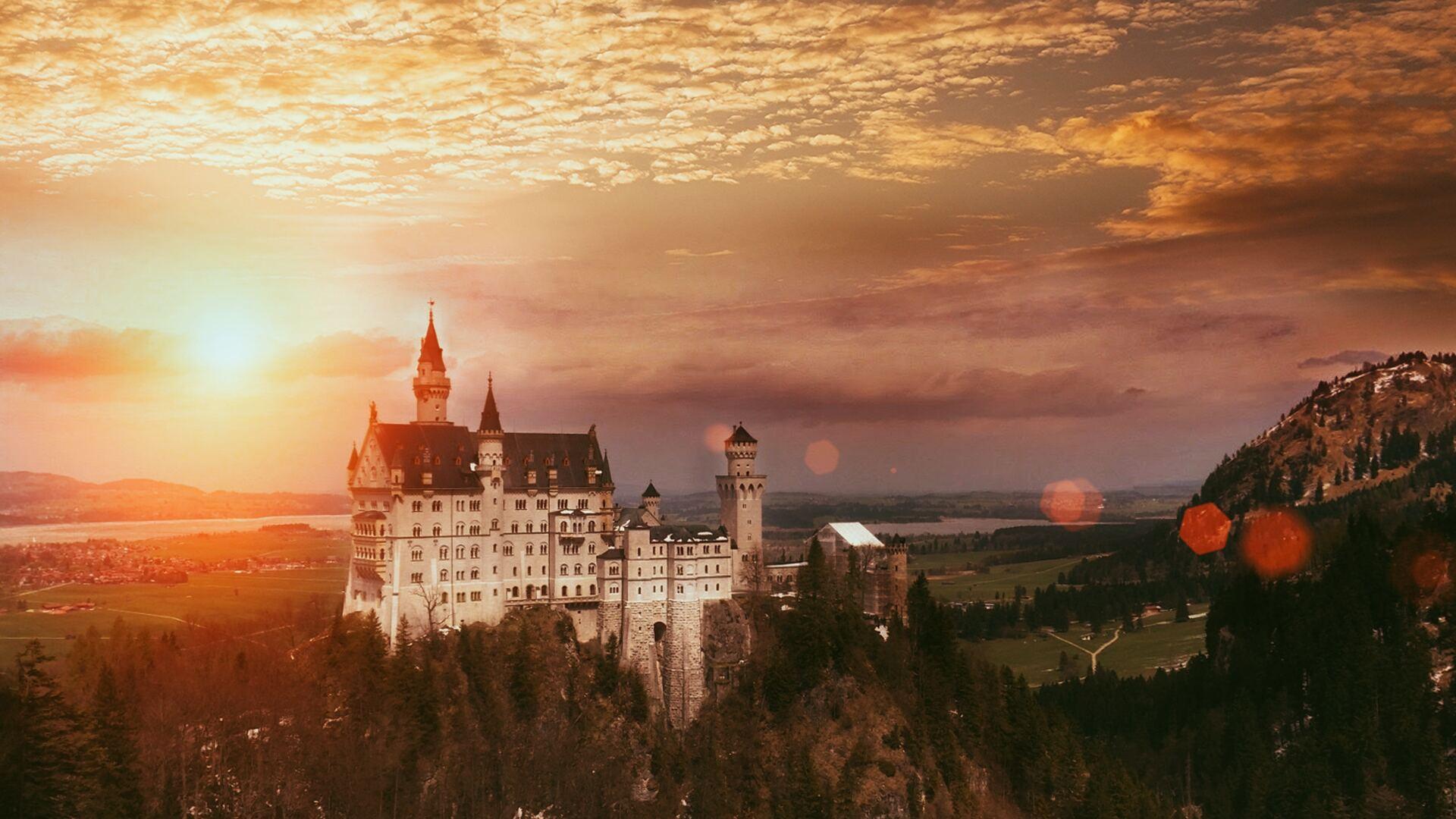 1920x1080 Neuschwanstein Castle 4k Laptop Full HD 1080P HD ...