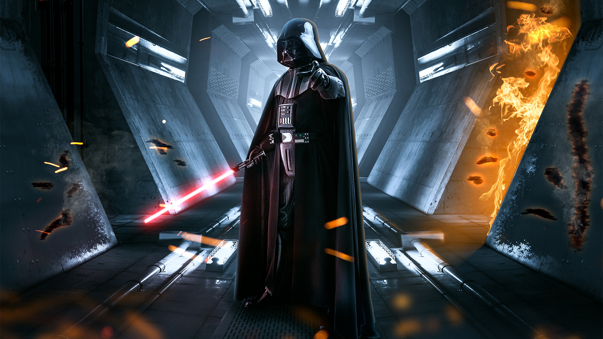 1920x1080 New Darth Vader Laptop Full Hd 1080p Hd 4k Wallpapers Images Backgrounds Photos And Pictures
