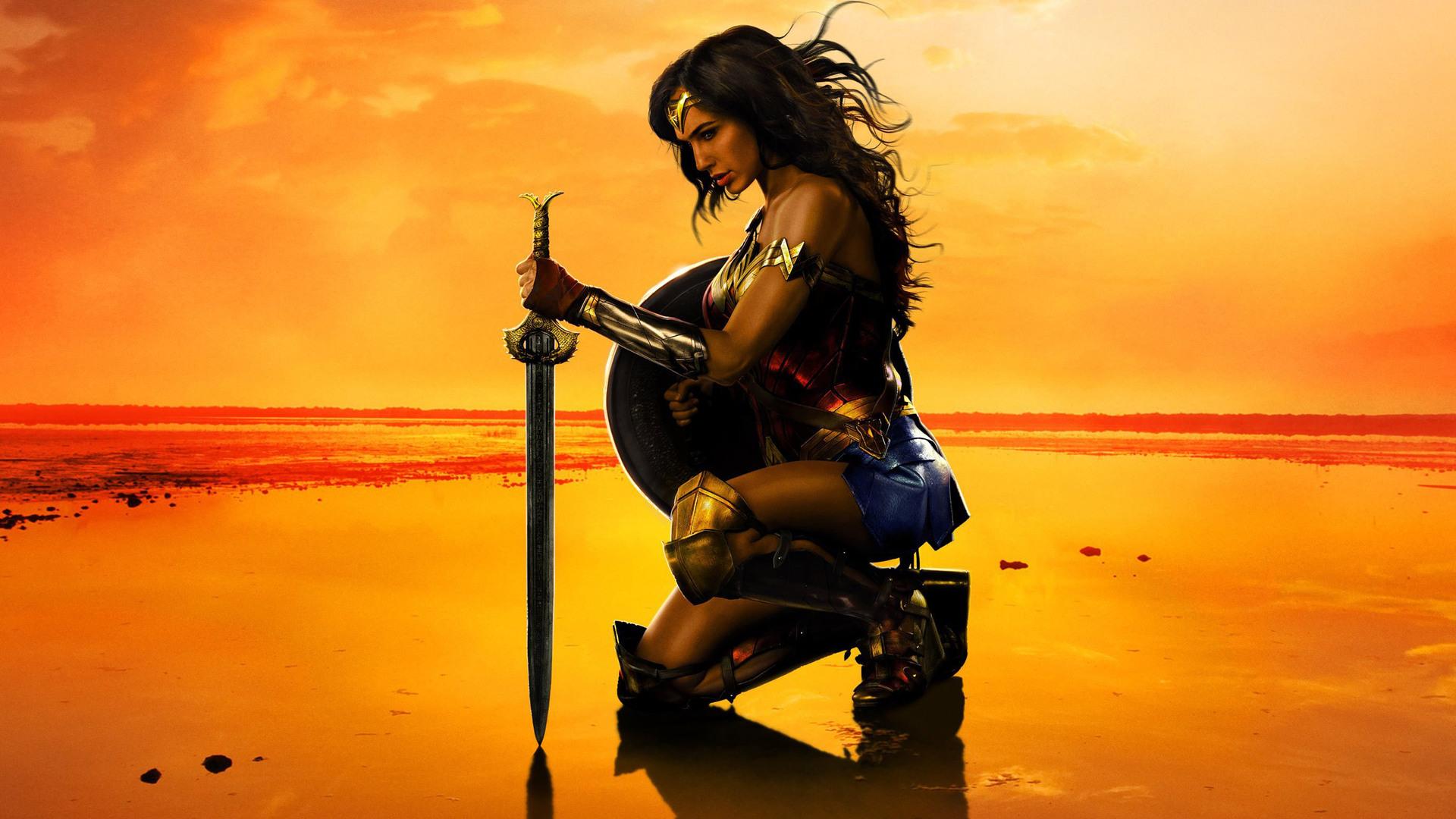 1920x1080 New Wonder Woman Poster Laptop Full HD 1080P HD ...