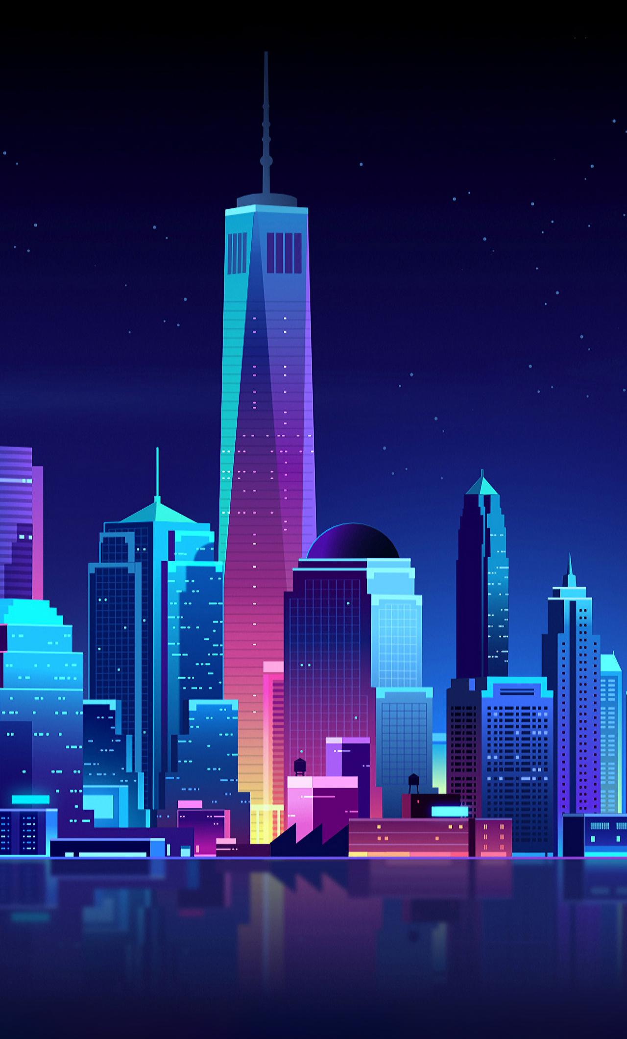 city night iphone 6 wallpaper
