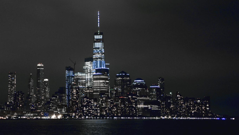 1360x768 new york buildings lights 5k laptop hd hd 4k wallpapers