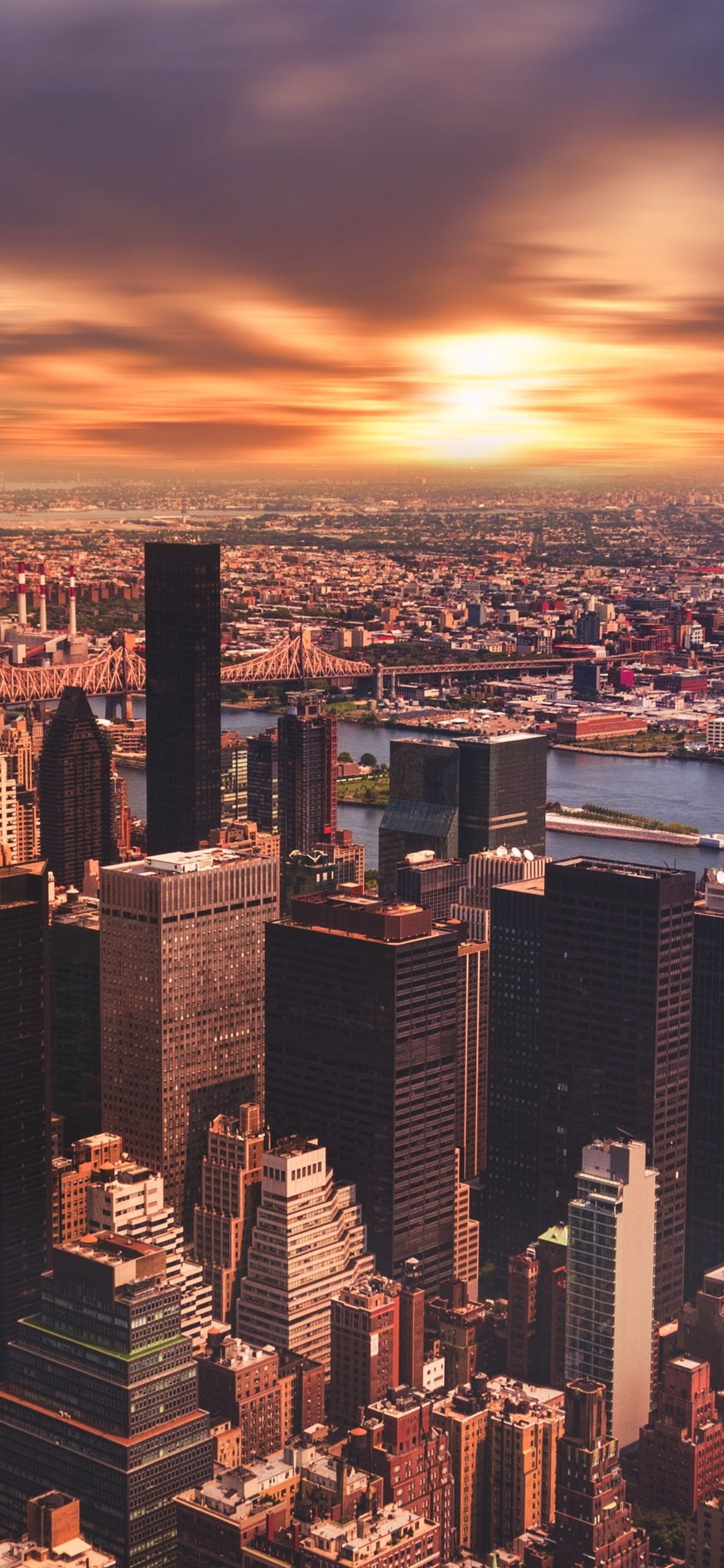 1125x2436 New York City Cityscape Skyscraper Iphone Xs Iphone 10 Iphone X Hd 4k Wallpapers Images Backgrounds Photos And Pictures