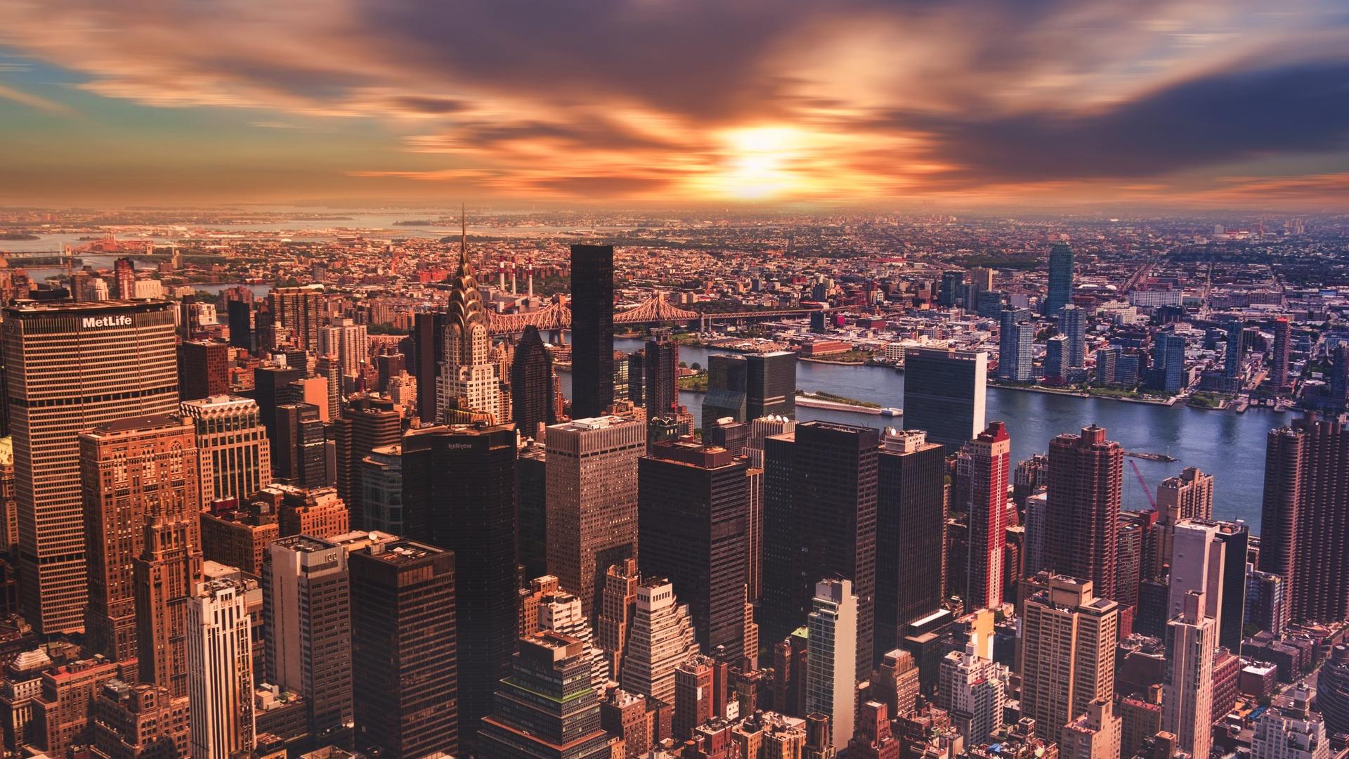 1920x1080 New York City Cityscape Skyscraper Laptop Full Hd 1080p Hd