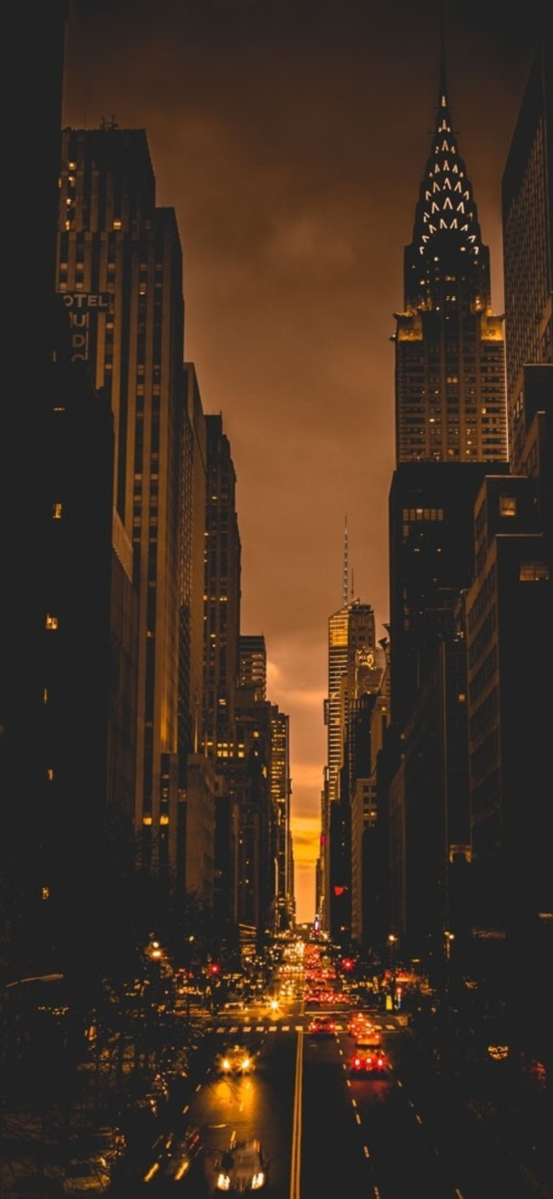 1125x2436 New York City Evening Iphone Xs Iphone 10 Iphone X Hd 4k
