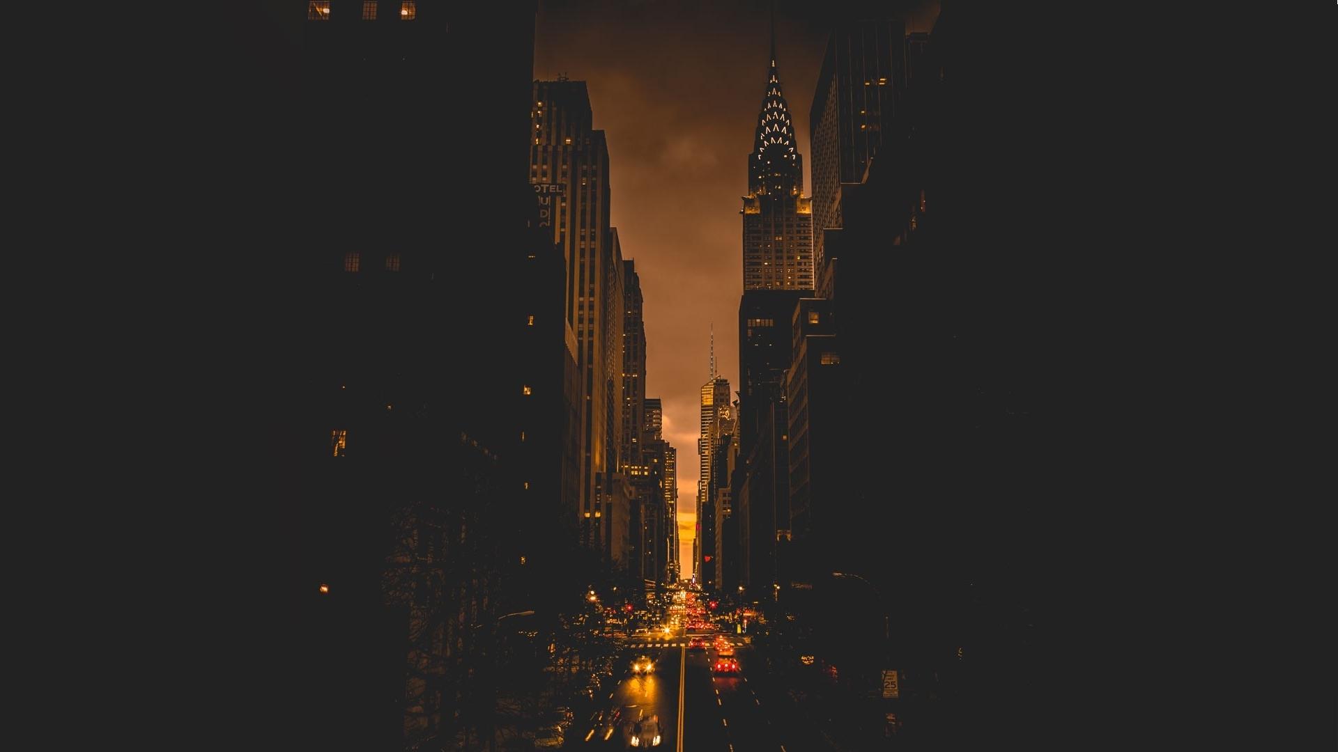 1920x1080 New York City Evening Laptop Full Hd 1080p Hd 4k