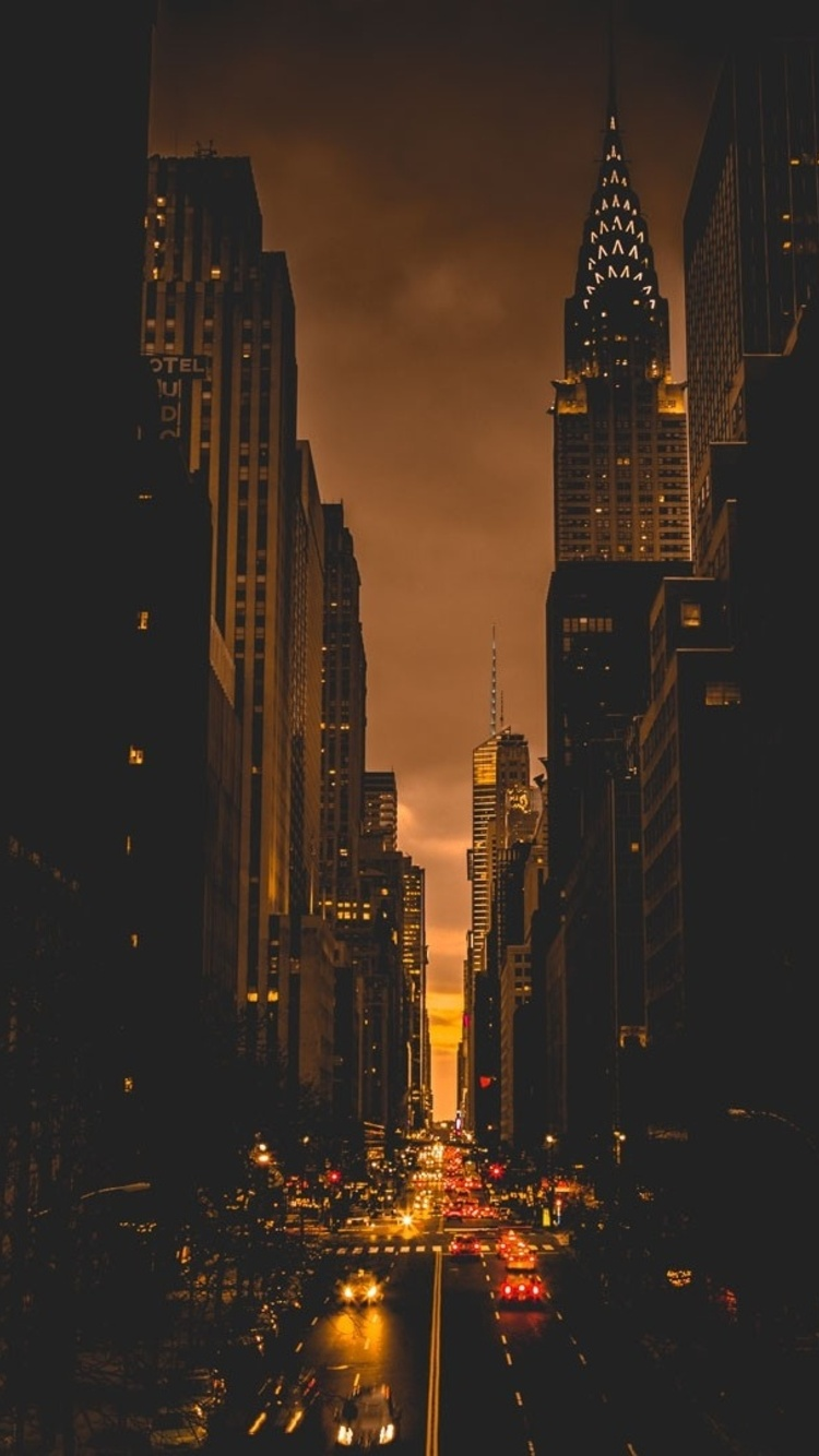 750x1334 New York City Evening Iphone 6 Iphone 6s Iphone 7 Hd 4k Wallpapers Images Backgrounds Photos And Pictures