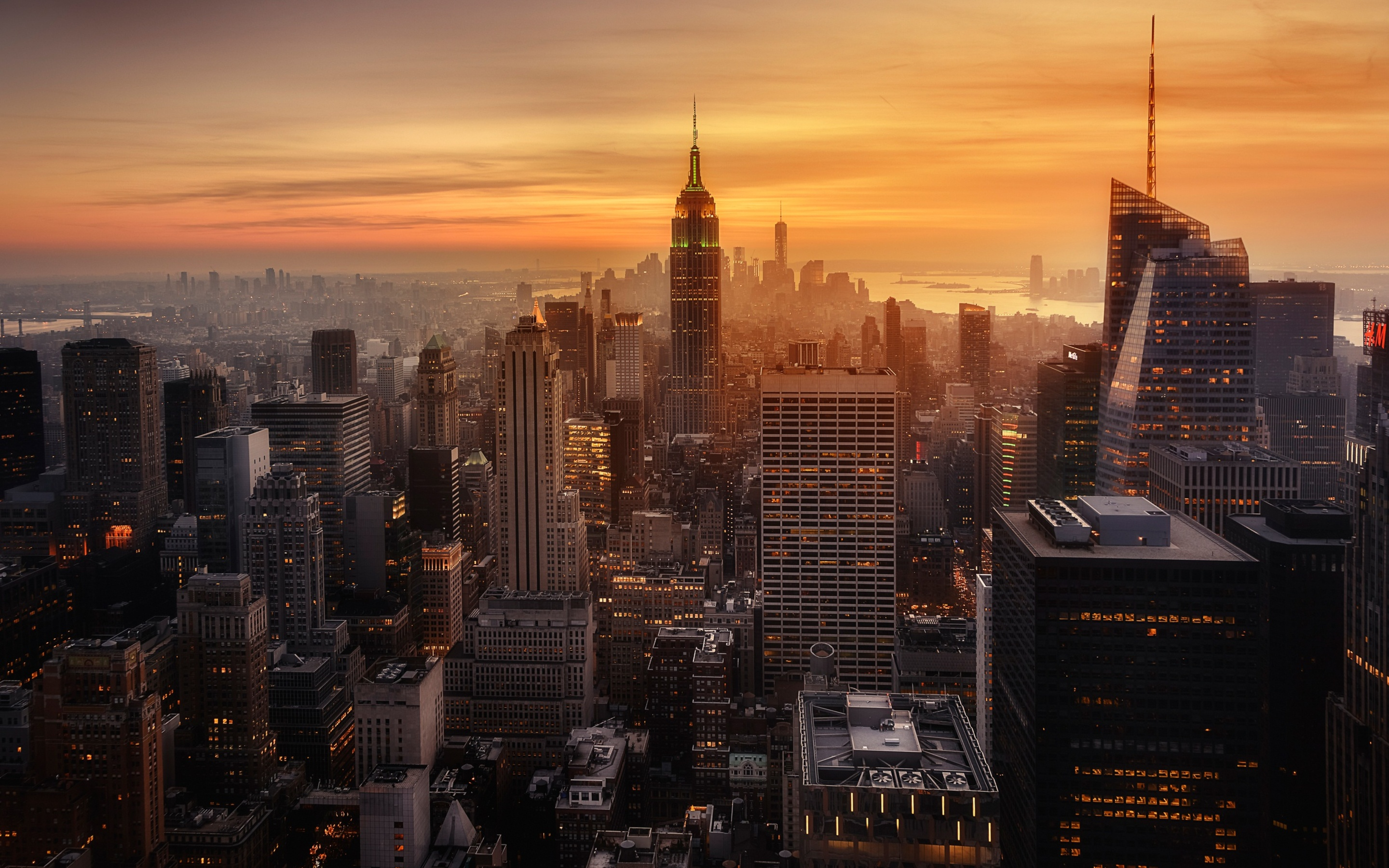 Simple Wallpaper Macbook City - new-york-city-evening-time-ak-2880x1800  Collection_244960.jpg