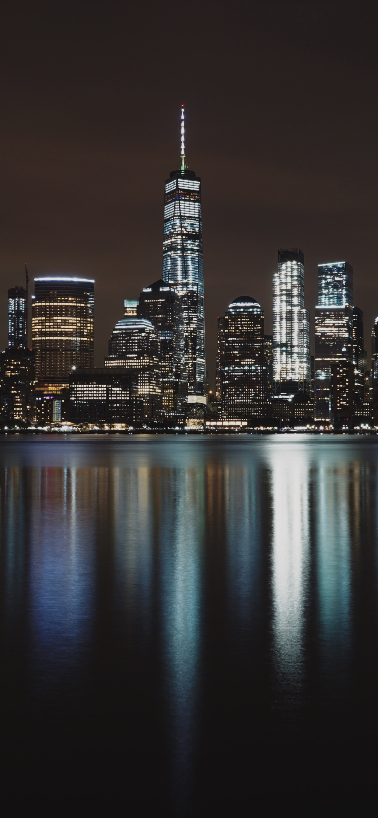 1242x2688 New York City Night Iphone Xs Max Hd 4k Wallpapers