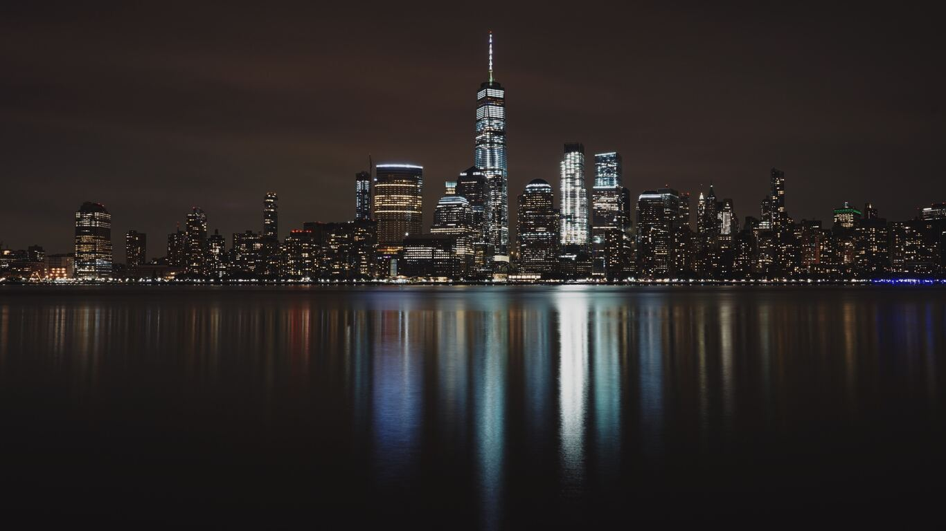 1366x768 New York City Night 1366x768 Resolution Hd 4k Wallpapers Images Backgrounds Photos And Pictures