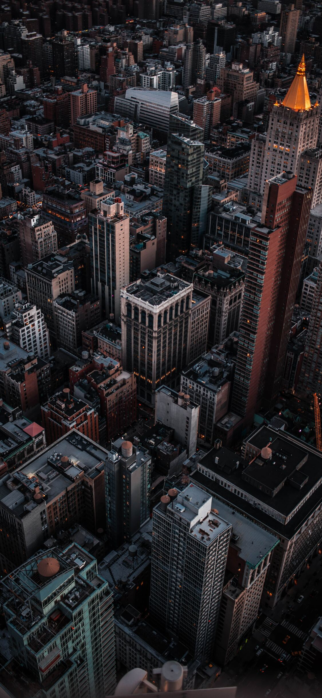 1125x2436 New York Empire Street Building 4k Iphone Xs
