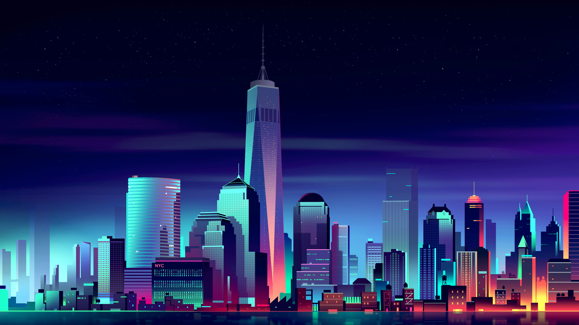 1920x1080 newyork city minimalism laptop full hd 1080p hd 4k