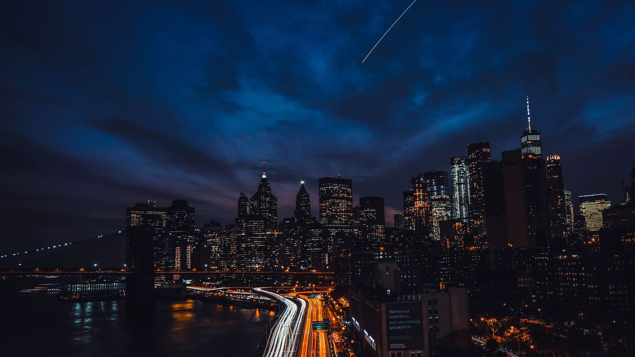 2048x1152 Newyork Night Buildings 4k 2048x1152 Resolution ...