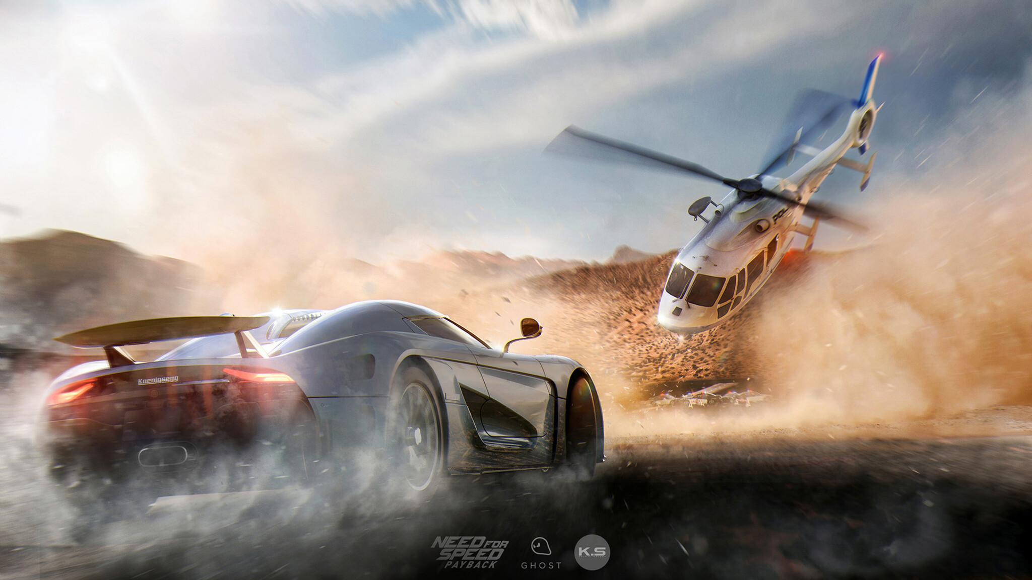Need For Speed Payback Wallpaper: 2048x1152 NFS Payback Koenigsegg 2048x1152 Resolution HD