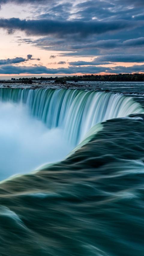 480x854 Niagara Falls 5k Android One Hd 4k Wallpapers