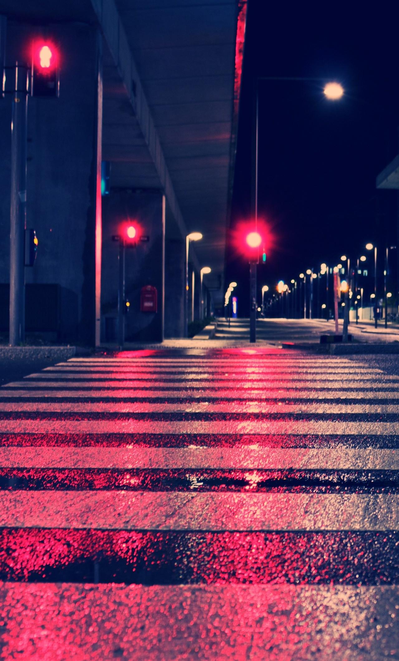 Night City Lights Street 4k Ca