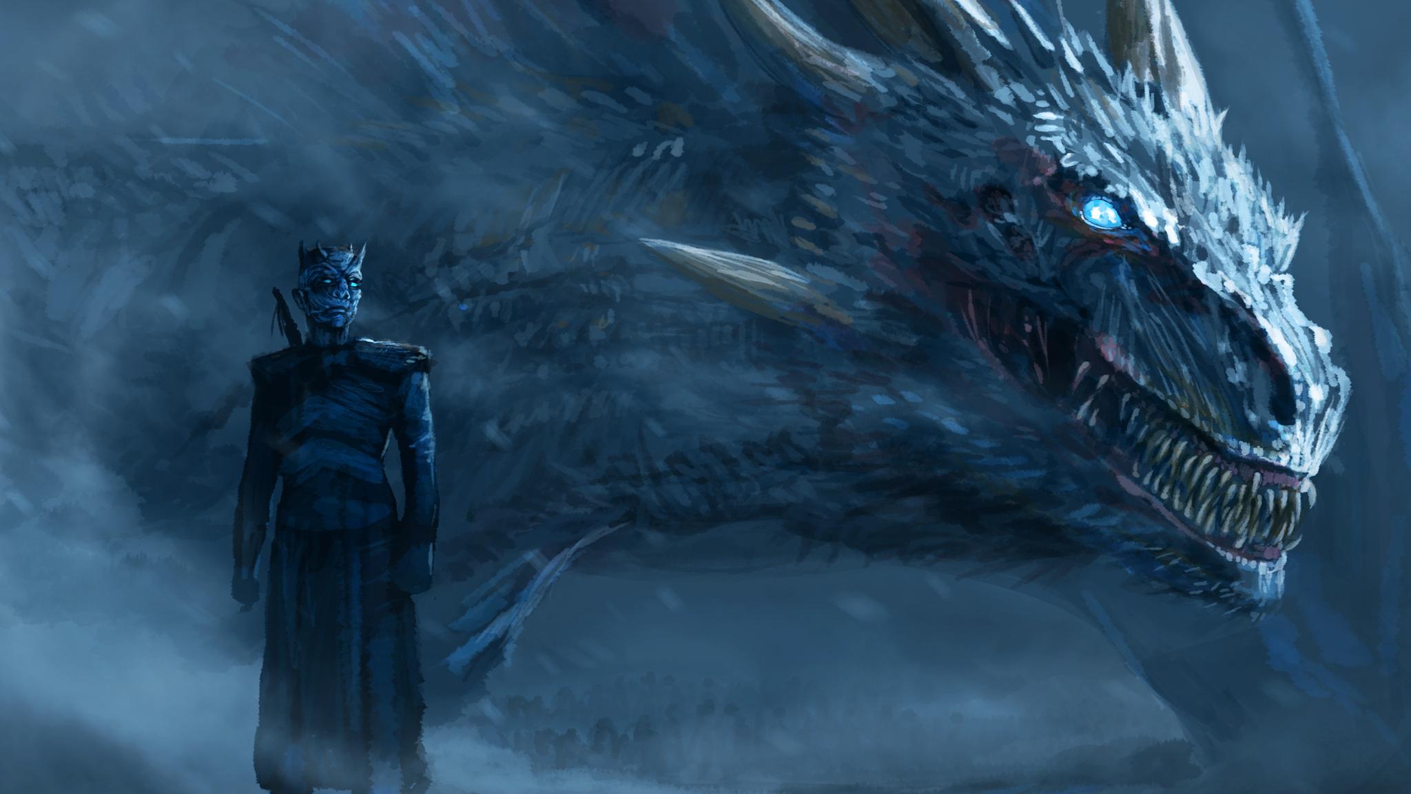 Cool Wallpaper Night Dragon - night-king-blue-eyes-white-dragon-6b-2048x1152  Trends.jpg