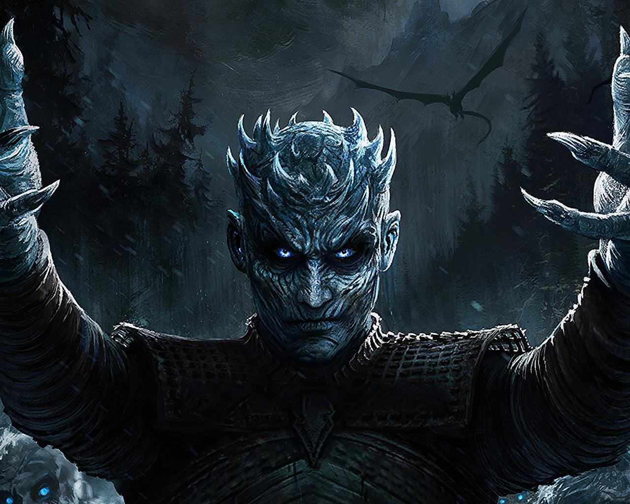 1280x1024 Night King Game Of Thrones Season 8 Art 1280x1024
