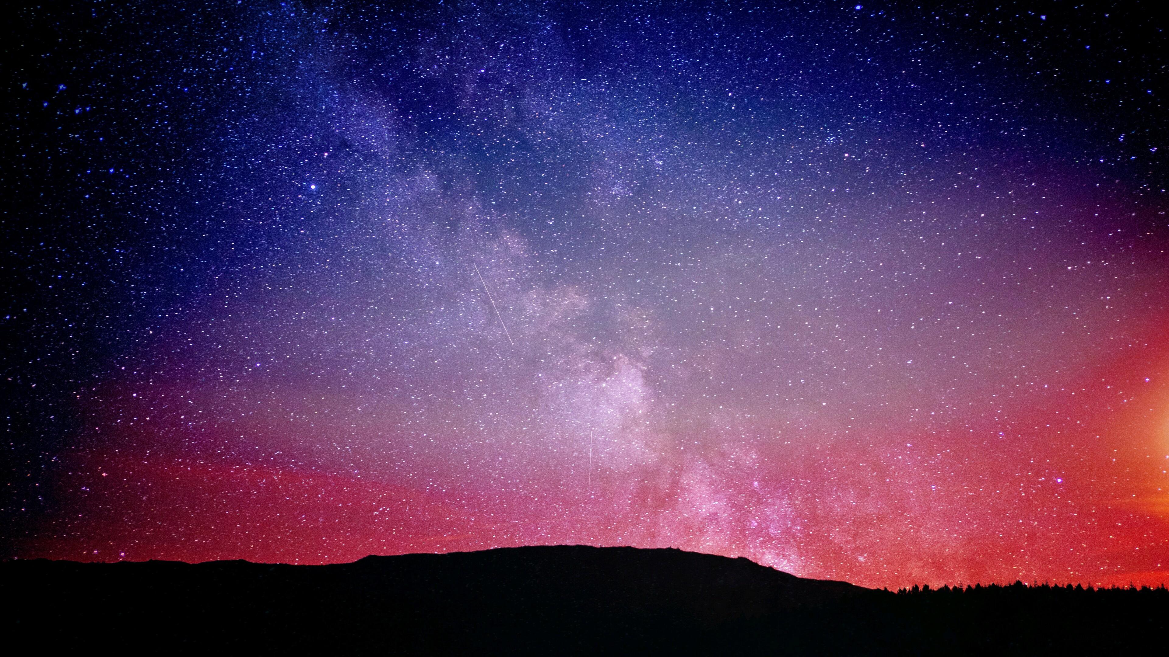 3840x2160 Night Sky Constellations 4k 4k Hd 4k Wallpapers