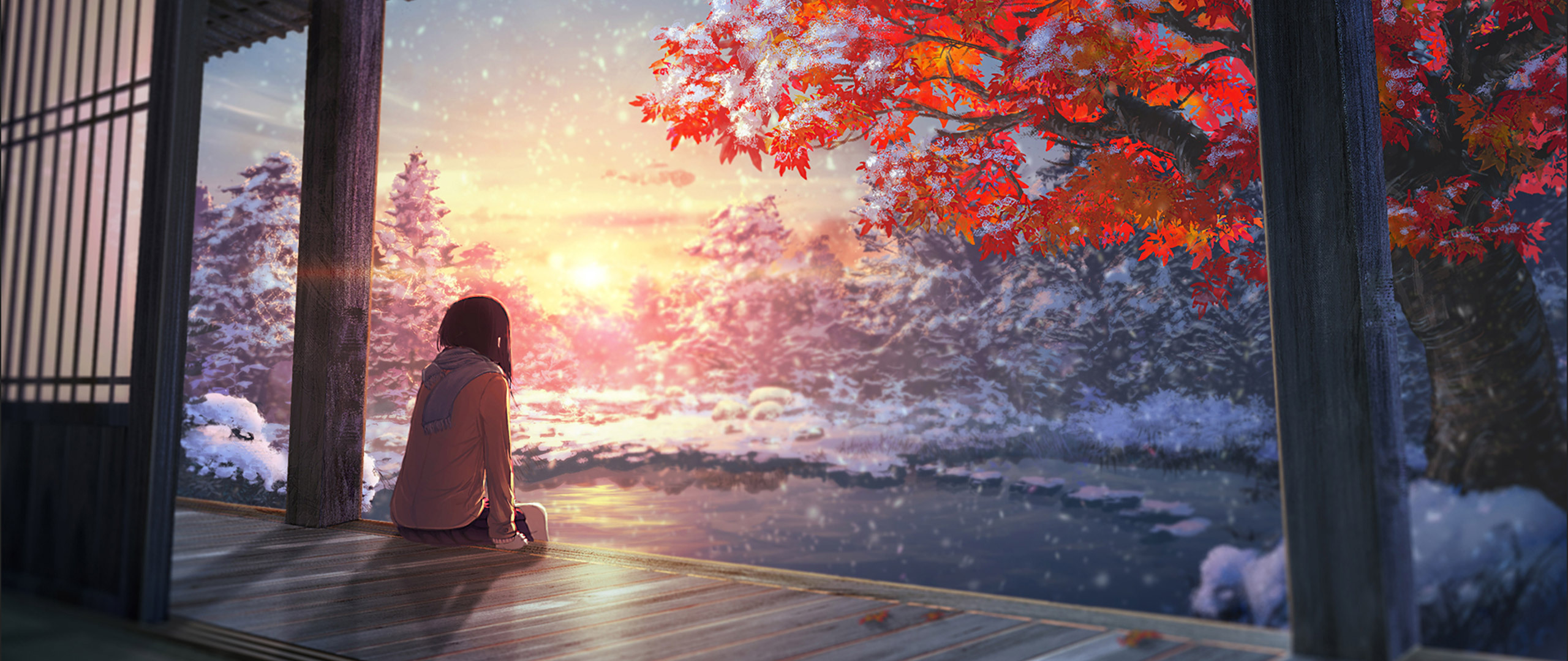 2560x1080 Nightcore Anime Girl 2560x1080 Resolution HD 4k Wallpapers, Images, Backgrounds ...