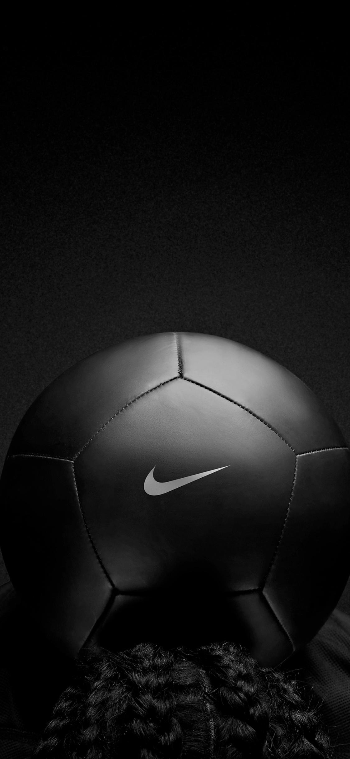 1125x2436 Nike Black Play Football Iphone Xs Iphone 10 Iphone X Hd