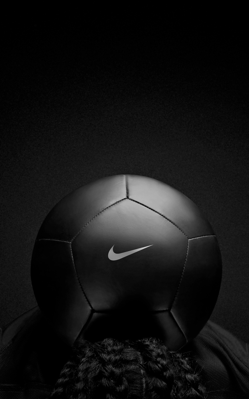 800x1280 Nike Black Play Football Nexus 7 Samsung Galaxy Tab 10 Note Android Tablets Hd 4k Wallpapers Images Backgrounds Photos And Pictures
