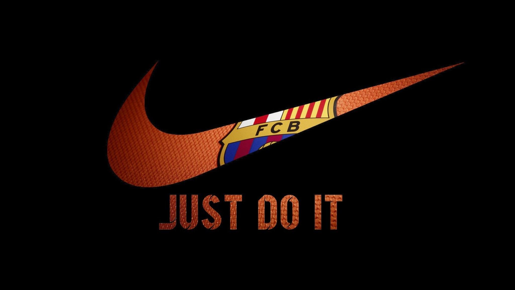 2048x1152 Nike FCB Logo 2048x1152 Resolution HD 4k ...