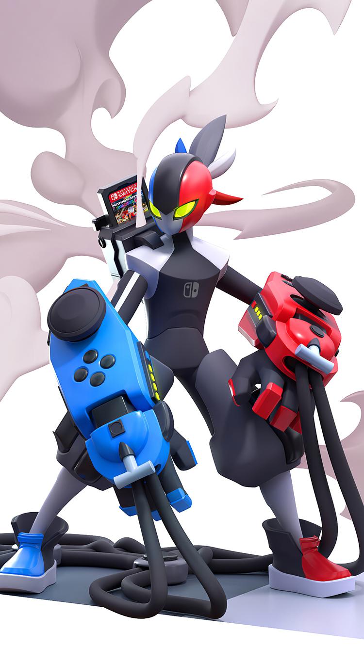 750x1334 Nintendo Switch Hero 4k iPhone 6, iPhone 6S ...