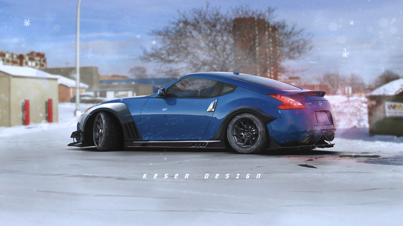 1366x768 Nissan 370z Fanart 1366x768 Resolution Hd 4k Wallpapers