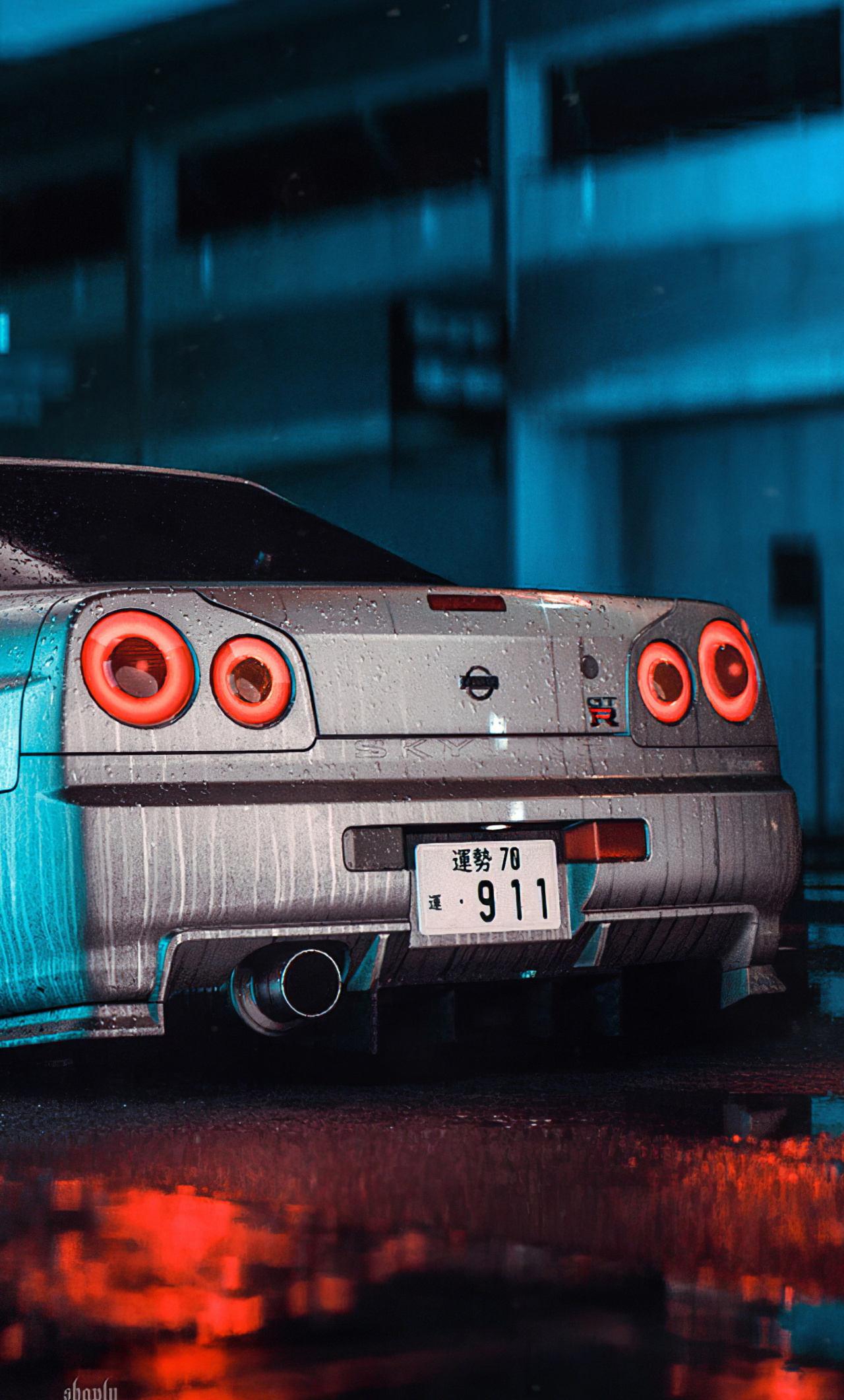 1280x2120 Nissan Skyline Gt R R34 Need For Speed 4k Iphone 6 Hd